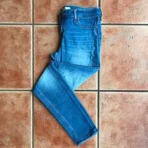 Hollister Light Wash Skinny Jegging Jeans sz 5R